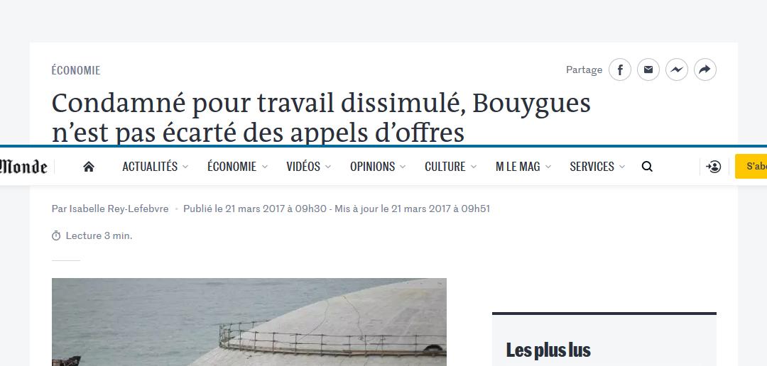 [Revue de Presse] Flavien Jorquera cité dans Lemonde.fr 📰